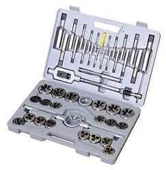 45-Pieces-HSS-industrial-quality-UNC-UNF-Tap-amp-Die-SET-case-1-4-1-034