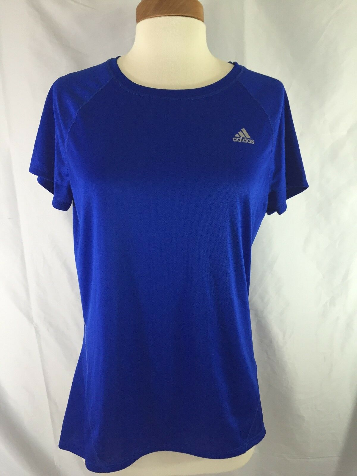 Chemise Adidas Exercice Bleu Adidas Climalite pour Femme, Taille M