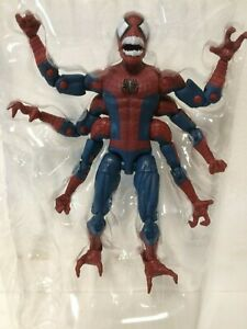 IN-HAND-Marvel-Legends-DOPPELGANGER-Spider-Man-Far-From-Home-NO-Molten-Man-BAF