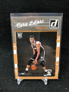CARIS-LEVERT-2016-17-Panini-Donruss-Rated-Rookie-167-RC-Brooklyn-Nets-B36