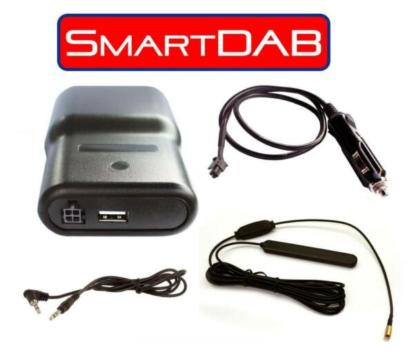 Agressief Autodab Smartdab Plug & Play Wireless Aux In Car Dab Digital Radio Mitsubishi Aantrekkelijk En Duurzaam