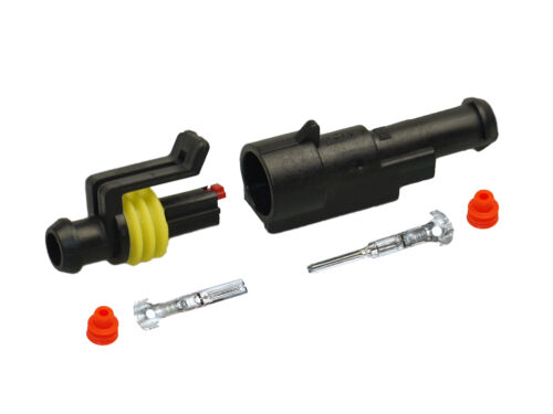 Motorrad LKW BOOT AMP Superseal Stecker Set 1-polig 1,50-2,50   KFZ