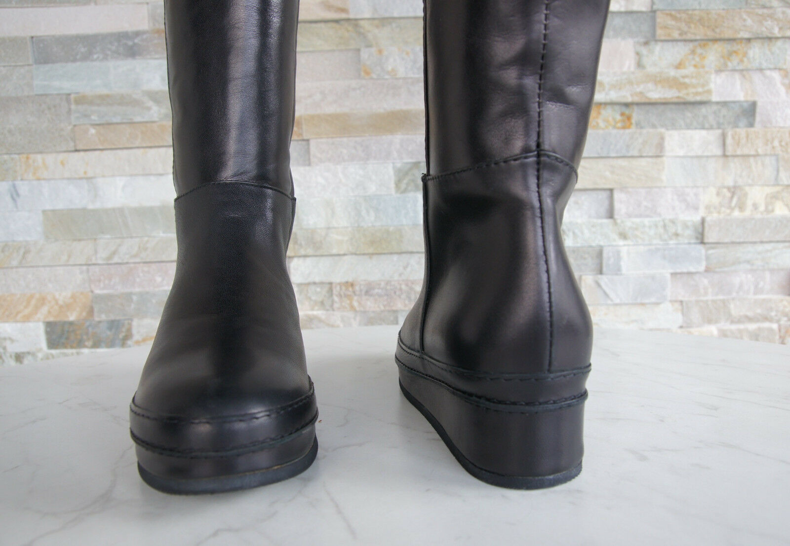 Baldinini 36,5 Trend T 36,5 Baldinini Bottes Fourrure 148334 Boots Chaussures Noir Nouveau Prix RecomFemmedé 7fad95