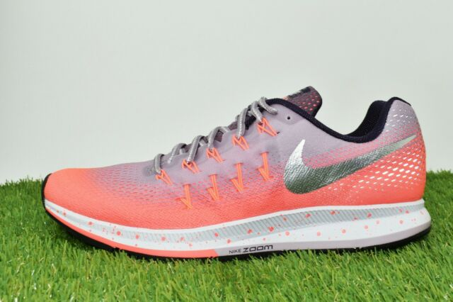 the latest e0ba9 76874 Nike Air Zoom Pegasus 33 Shield 849567-500 Mango Plum Fog Womens Shoes Size  7