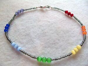 Image Is Loading Chakra Ankle Bracelet
