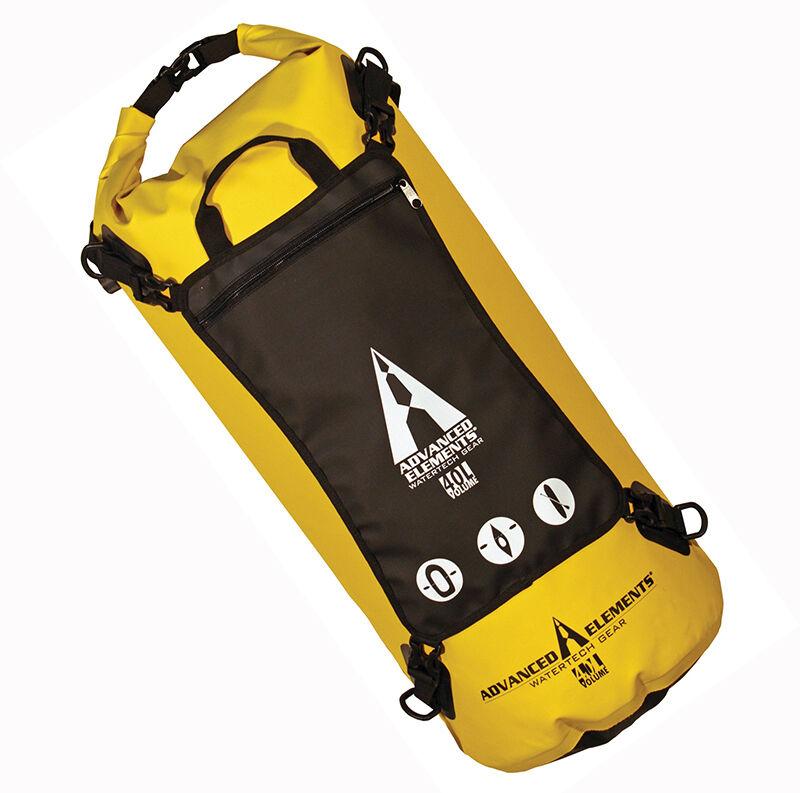 Advanced Elements AE3508 StashPak 40L WaterTech Gear Drybag w Detachable Pouch