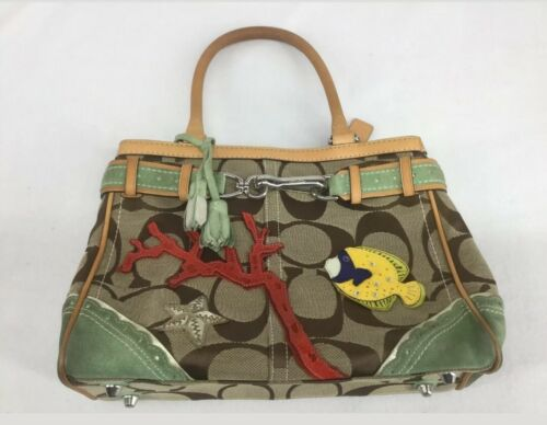 Coach fish purse