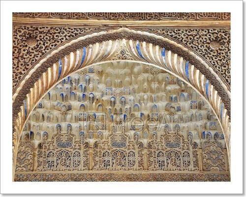 Alhambra Palace In Granada Art Print Home Decor Wall Art Poster G