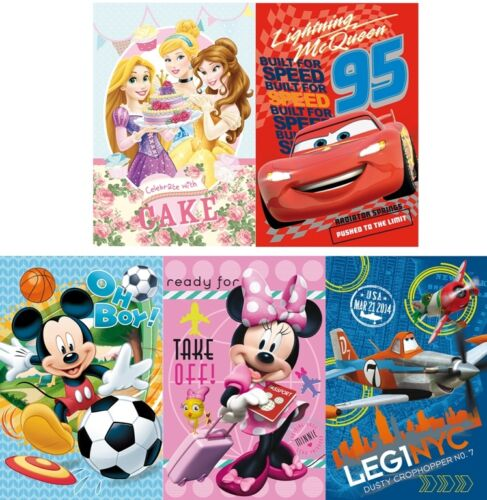 NEU Disney Fleecedecke 100cm x 150cm mit verschiedenen Motiven