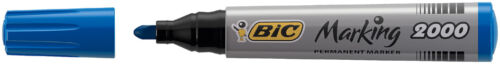BIC Permanent Marker Marking 2000 Ecolutions blau