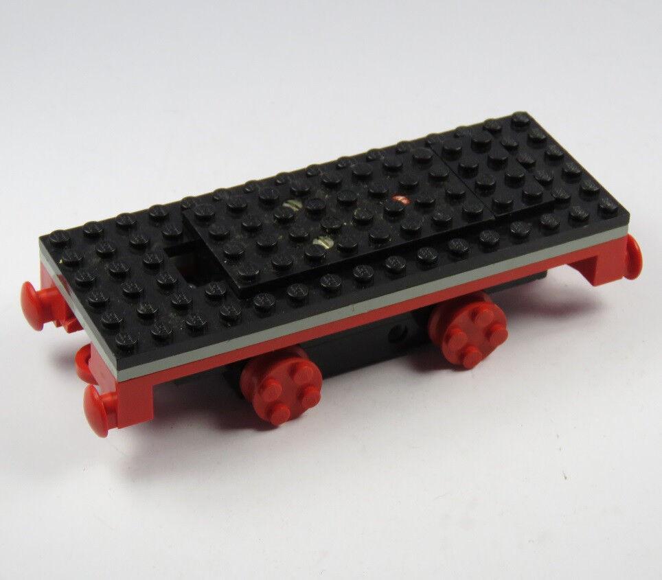 LEGO ® 4 4 4 V moteur train, chemin de fer, locomotive, train, noir, incl. zugplatte 950159
