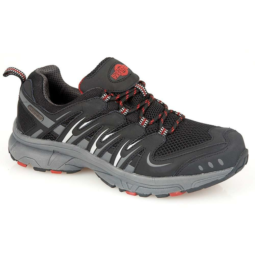 Para Hombres Cuero Caminar Senderismo Entrenadores Impermeable De NORTHWEST Zapatos Botas De Impermeable Trekking 4f4ec9