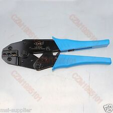 Ratcheting crimper crimping tool terminals wire connectors 22 10 pin crimping tool ls 03c for insulated cable linksbutt connectors sciox Gallery