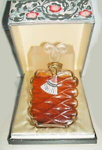 Flacon-de-parfum-ancien-Volnay-034-Cachucha-034-parf-d-039-origin-scelle-parfait