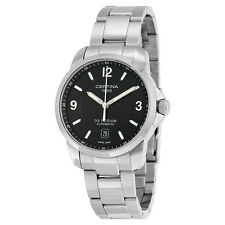 Certina DS Podium Automatic Black Dial Mens Watch C0014071105700