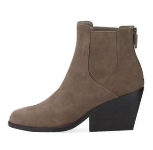 Eileen Fisher Peer Women's Grey Suede Ankle Boot Sz 10 3009 *