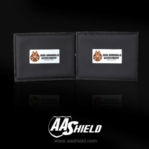 "AA Shield Body Armor Blunt Force Trauma Pad Soft NON-BALLISTIC Plate 6/""x8/"" Pair"