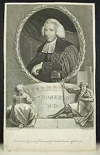 Rev William Robertson historian Thomas HOLLOWAY  d'ap  Joshua REYNOLDS c 1780