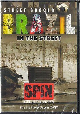 Street Soccer - Brazil in the Street (DVD, 2007) BRAND NEW