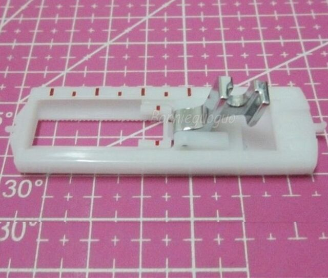 Snap On Buttonhole Foot F Singer Brother Janome Domestic Sewing Machines w/Shank