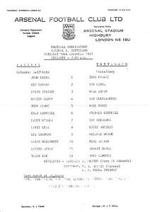 Arsenal-v-Tottenham-Hotspur-programme-Football-Combination-December-1983