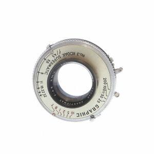 """Kodak 6 3/8"""" (162mm) f/4.5 Anast. No.32 Graphic Supermatic BT (47MT) 4x5 Lens"""