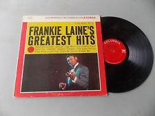 Frankie Lane Greatest Hits LP Columbia Stereo 8636 L@@K The HIGH NOON MAN