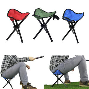 Outstanding Details About 3 Leg Portable Outdoor Folding Stool Hiking Triangle Chair Camping Fishing Seat Unemploymentrelief Wooden Chair Designs For Living Room Unemploymentrelieforg