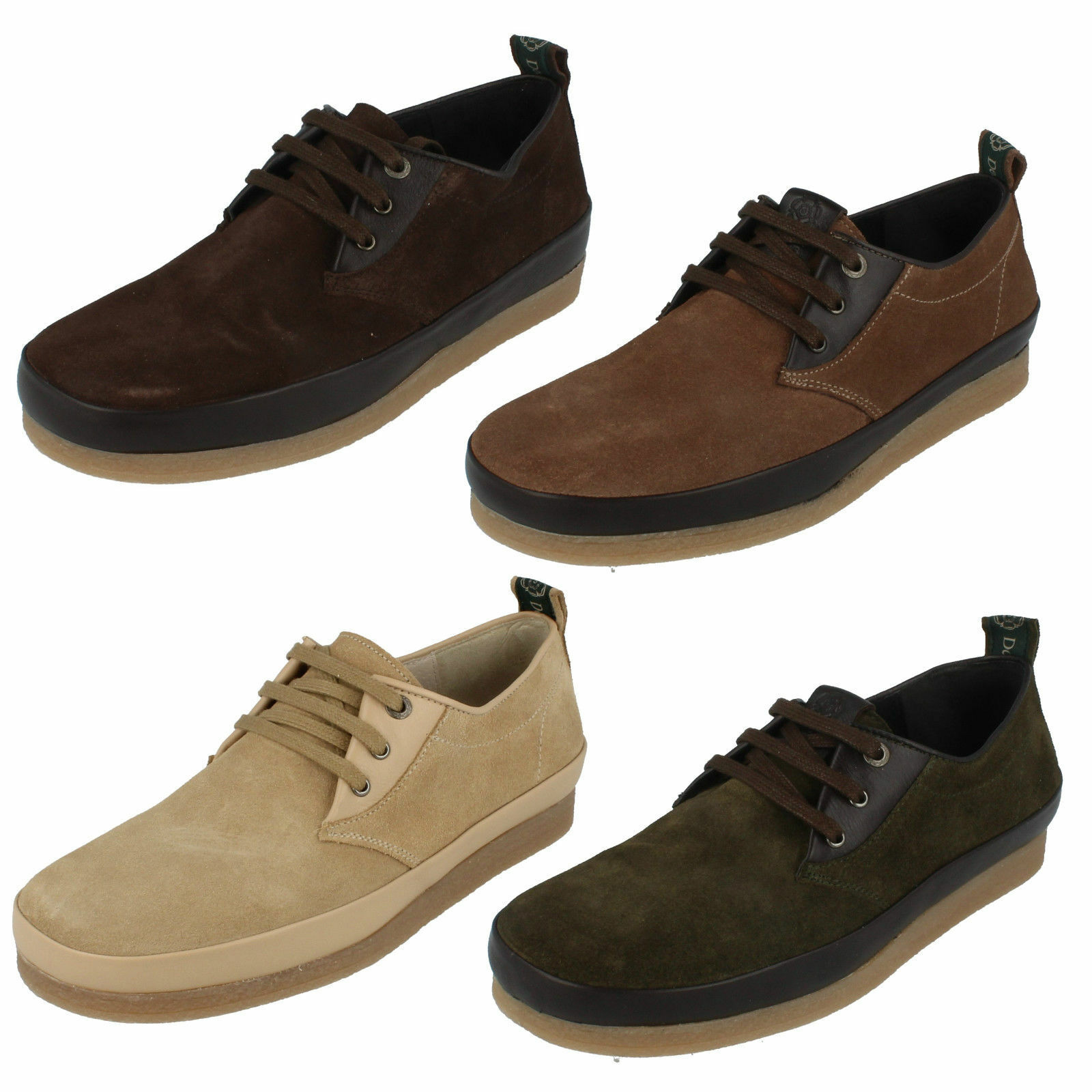 Mens Nicholas Deakins Suede Leather Lace Ups- ACCONA - 3 Colours- Great Price