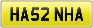 HANNAH-RARE-NEAT-CAR-REG-NUMBER-PLATE-HA52-NHA-ALL-FEES-PAID-HANNA-HANA-HAN