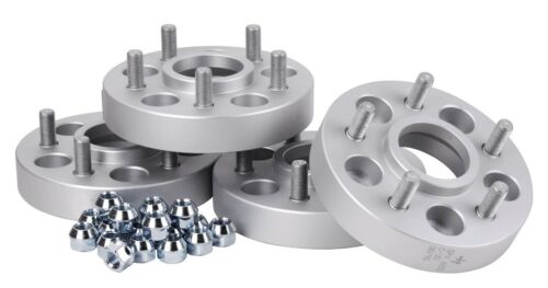 Spurverbreiterung (4x) 46/50 mm Distanzscheiben Spacers Spurplatten Spurscheiben