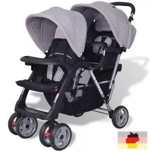 Kinderwagen 2 Kinder : kinderwagen kinderbuggy geschwisterwagen stahl f r 1 2 kinder shopper sportwagen ebay ~ Watch28wear.com Haus und Dekorationen