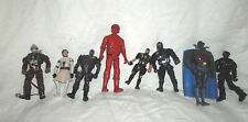 """8 5"""" Action Figures Miner Rescue Hero Military Ninja Police Knight DC Comics toy"""