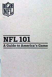 NFL-Football-americain-livre-souvenirs-NFL-101-un-guide-pour-l-039-Amerique-du-jeu