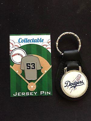 Unparteiisch Los Angeles Dodgers Reversnadel/leder Keychain-tru Blu Collectables-don Rohstoffe Sind Ohne EinschräNkung VerfüGbar Fanartikel Weitere Ballsportarten