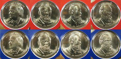 Mint Rolls Money President 2012 P/&D Presidential One Dollar Coins 8 Coins U.S