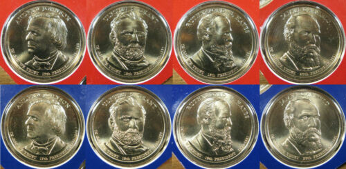 2011 P/&D Set of Presidential One Dollar Coins Coin U.S Mint Rolls Money Dollars