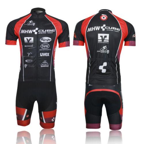 CUBE Fahrradbekleidung Rennrad Team Fahrrad Trikot Lätzchen Short Cycling Jersey