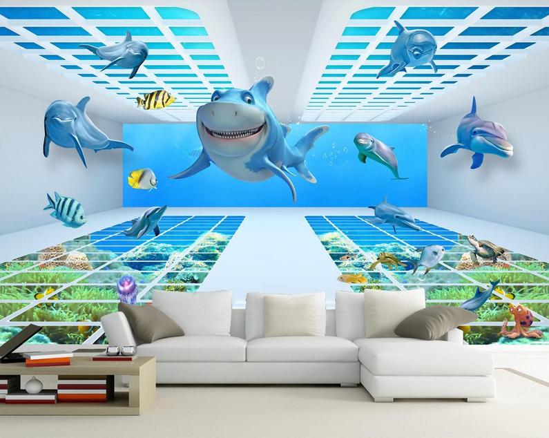 3D Spaß Marine Stil 895 Tapete Wandgemälde Tapete Tapete Tapete Tapeten Bild Familie DE Summer | Gute Qualität  720c49