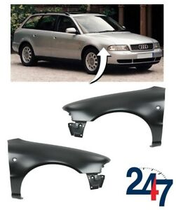 NEW-AUDI-A4-B5-1994-1996-FRONT-WING-FENDER-PAIR-SET-LEFT-N-S-RIGHT-O-S