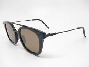 New-Authentic-Fendi-FF-0224-F-S-80770-Black-with-Brown-lens-Sunglasses-FF-0224FS