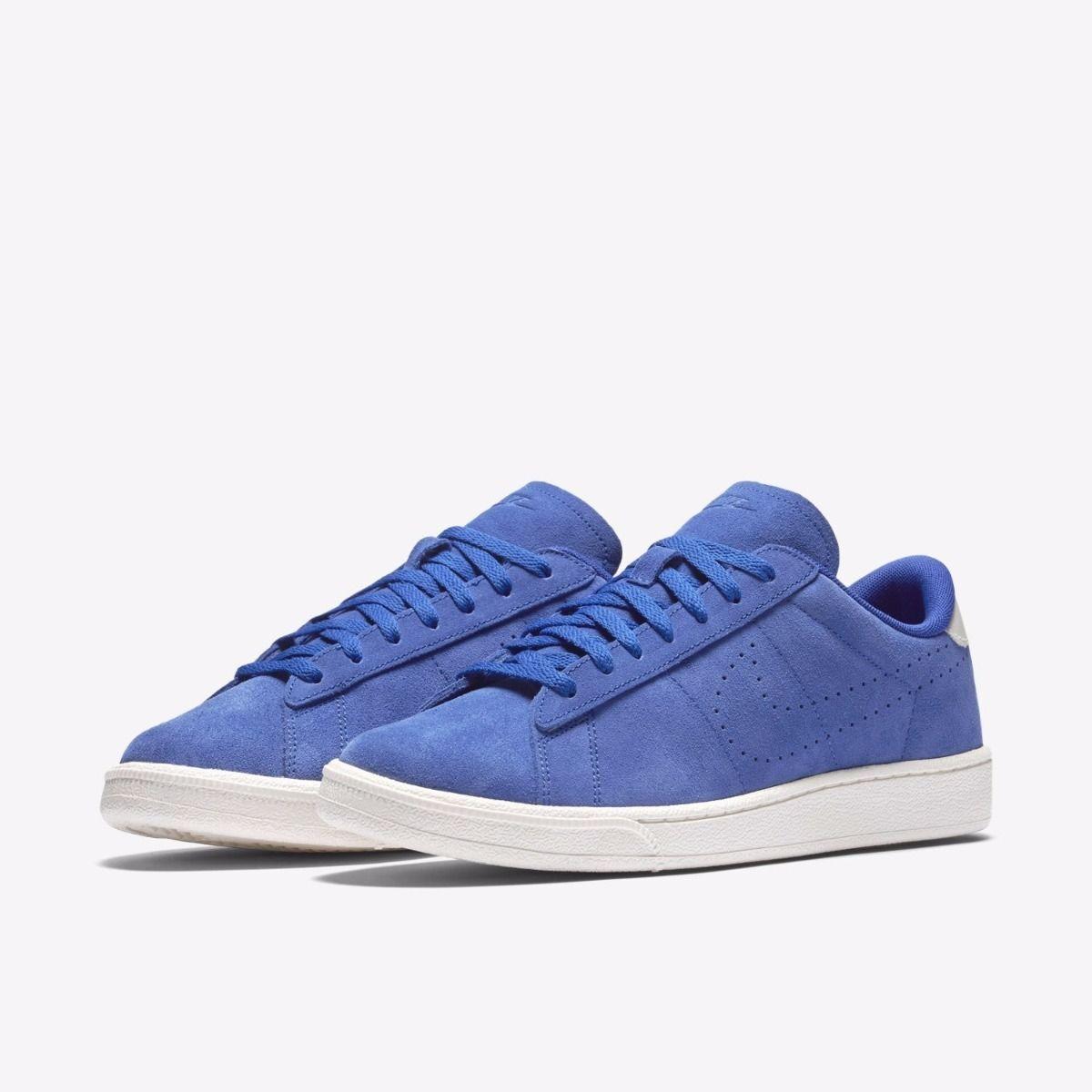Nuova Uomo Tennis Classic Blue Suede Casual   Nike