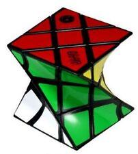 Eitan's FisherTwist Cube Puzzle, 3x3x3 Rotated Magic Speed Twist Brainteaser Toy
