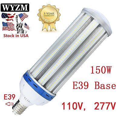 Metal Halide Replace 60w-150w E39 Mogul Base 5000K White LED Corn Light Bulb