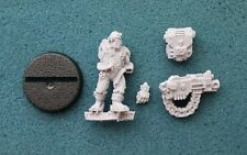 30K 40K Space Marine Imperial Guard Servitor Heavy Bolter Finecast *New* (P6)