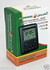 Autometic AZAN Clock Wall Table Alarm Watch Digital ISLAMIC Prayer Qibla Hijri