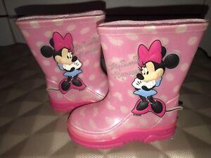 Character Disney Padded Coat Jacket Girls Pink UK Size 9-10 Years *REF93