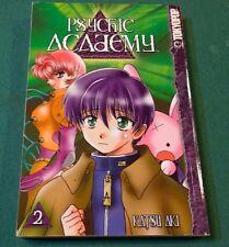 Psychik Academy Manga Vol 2 by Katsu Aki TPB GN Tokyopop