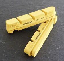 1 Paar Swissstop FlashPro Yellow King Bremsbeläge Carbon Shimano Sram Gelb