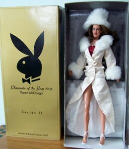 """Karen McDougal Playboy Playmate o//t Year 1998 18/"""" Doll Limited Sealed New 2002"""